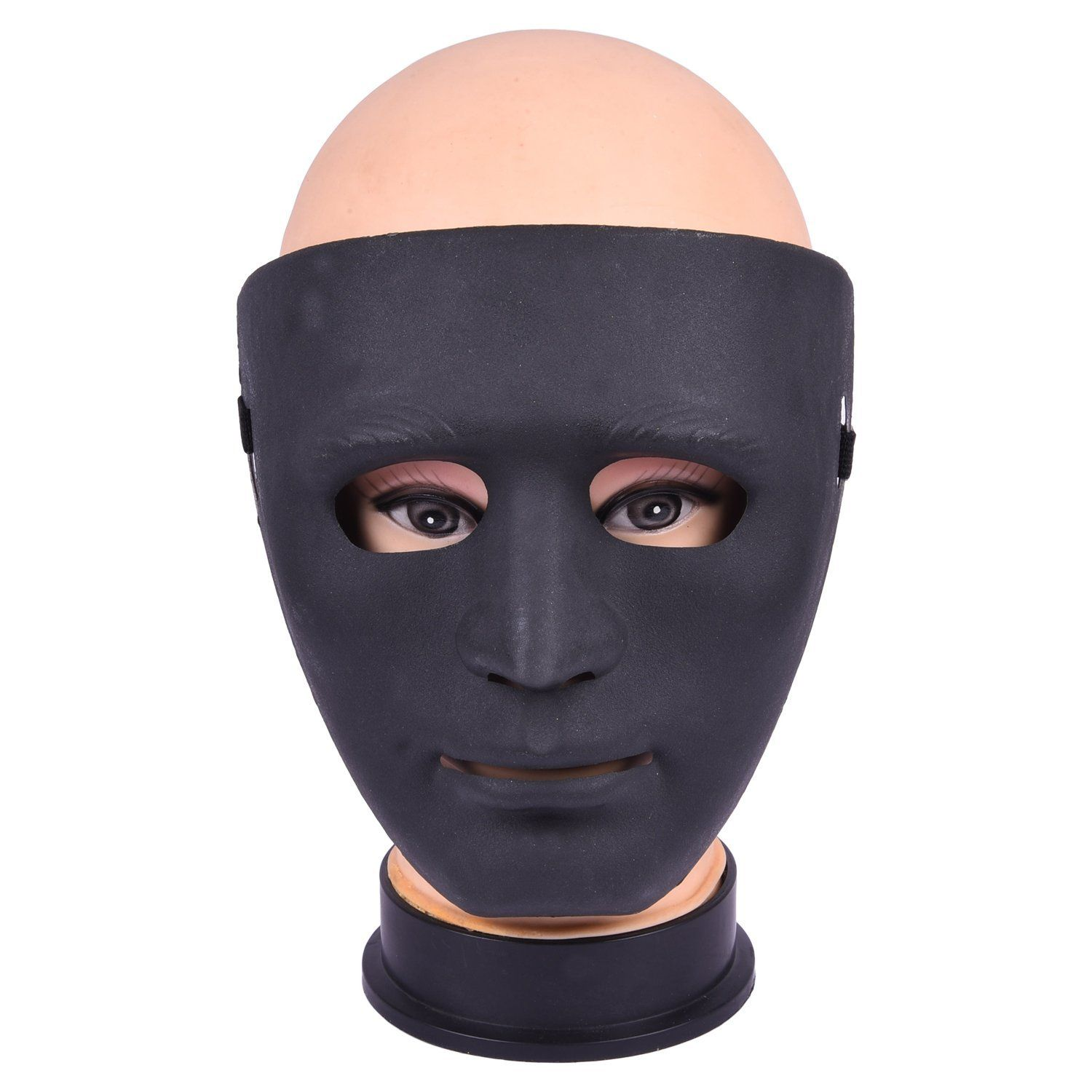 This full face halloween mask is an original PVC. This mask is ...