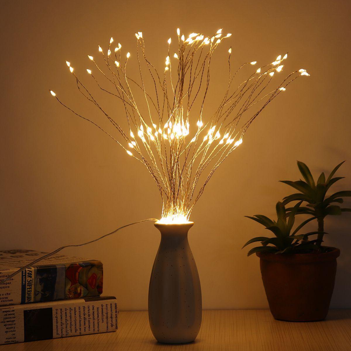 Firework string lights,150/180/200 led fireworks copper string images