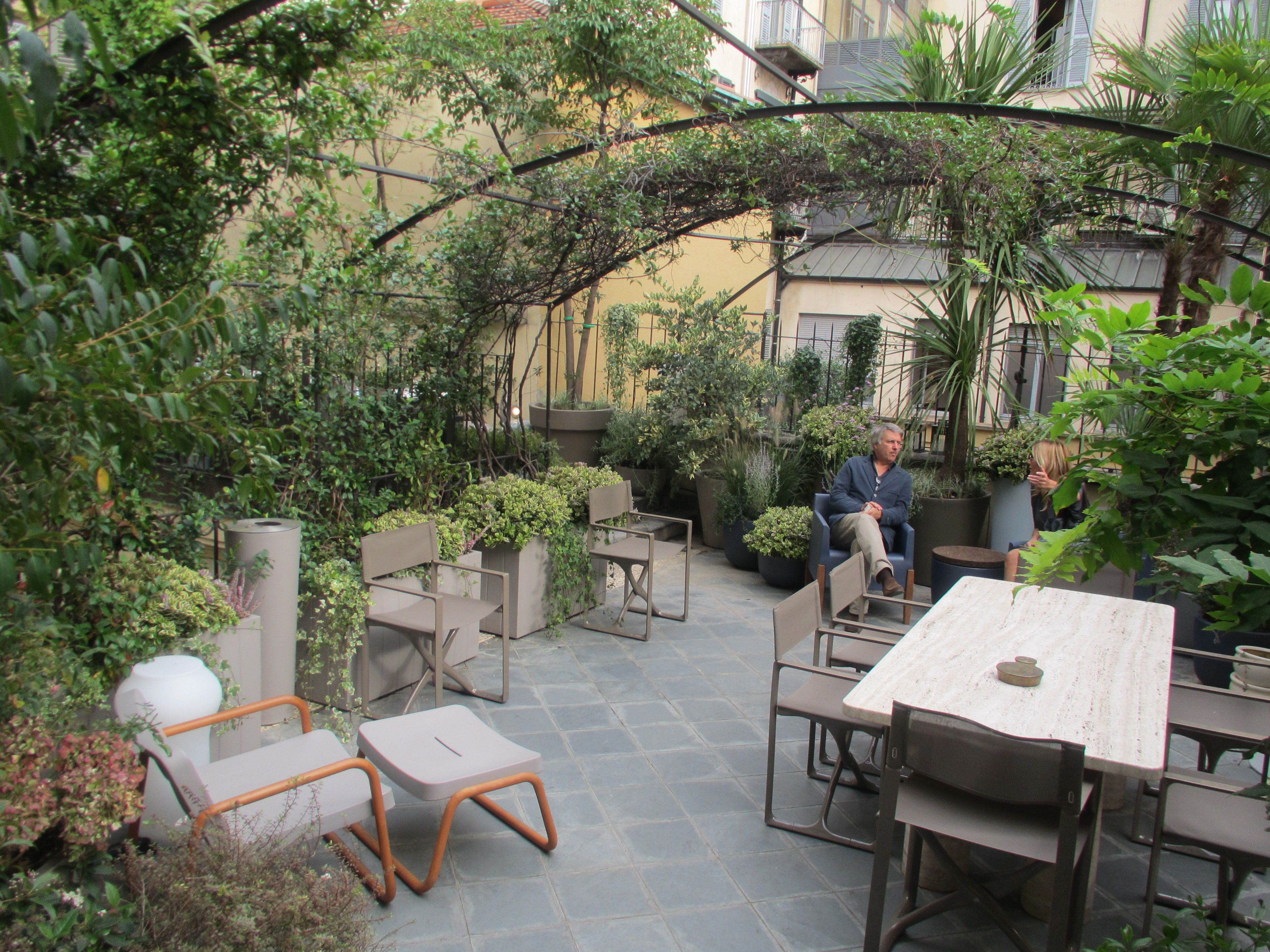 An exclusive Meeting Terrace in the heart of Milano Un