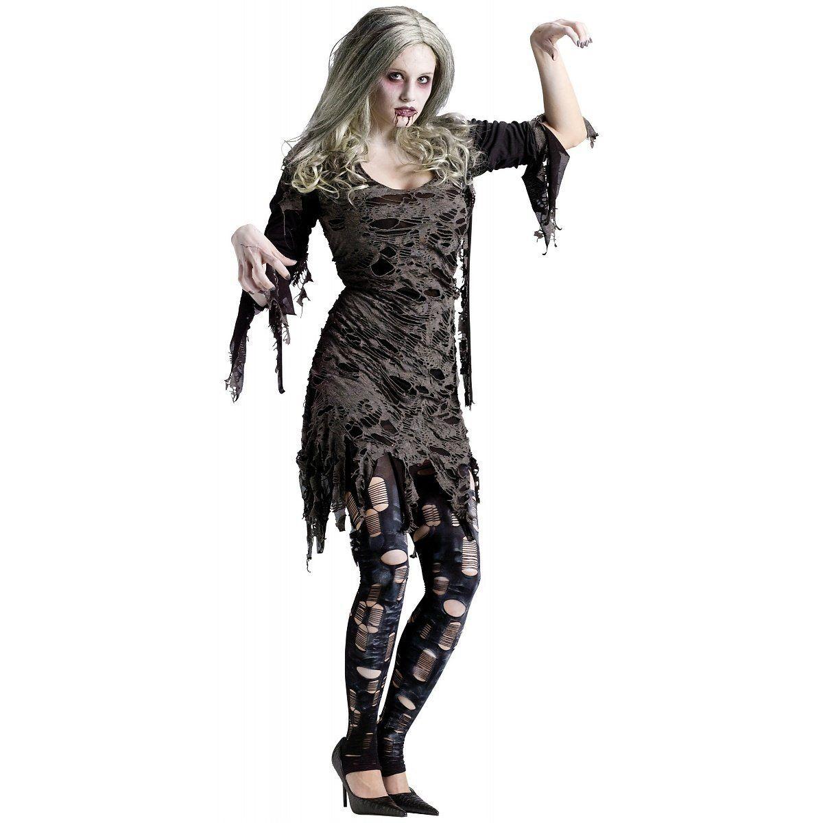 disfraz zombie mujer ropa