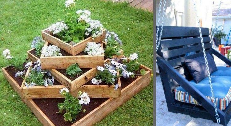 Jardin : 30 meubles en palettes super chouettes ! | Home | Meuble ...