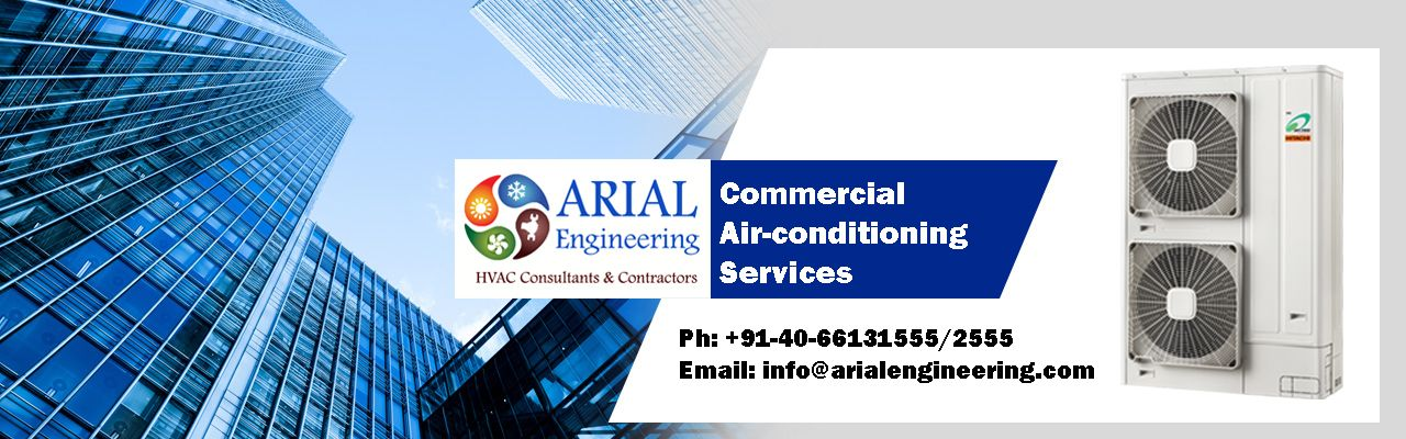Commercial Air Conditioning Solutions Hvac Vrf Arial