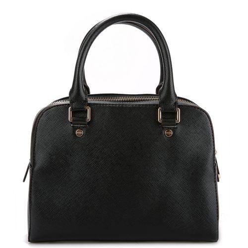 762e811d5730 MICHAEL MICHAEL KORS logo fob bowling bag Black - Handbags - Michael Kors  Categories