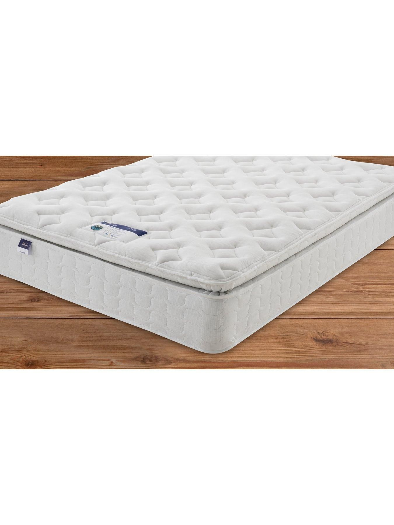 Silentnight Miracoil 3 Pippa Memory Foam Pillowtop Divan Bed With
