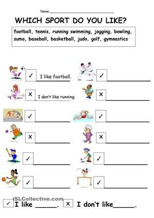 sport do you like worksheet free esl printable worksheets made by teachers education. Black Bedroom Furniture Sets. Home Design Ideas