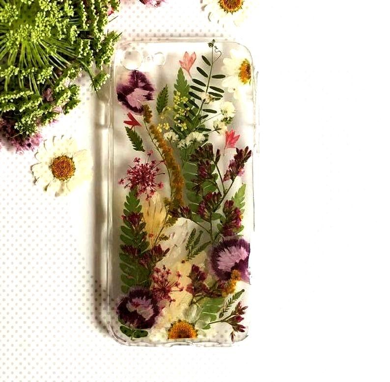 Pressed Flower Phone Case, quotJungle Wibesquot Phone Case, iPhone Case, Samsung Phone Case, Huawei Phone