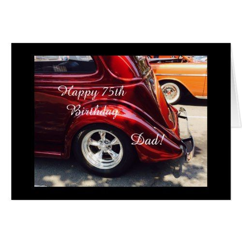Dads 75th birthday card dad pinterest dads birthday cards dads 75th birthday card bookmarktalkfo Choice Image