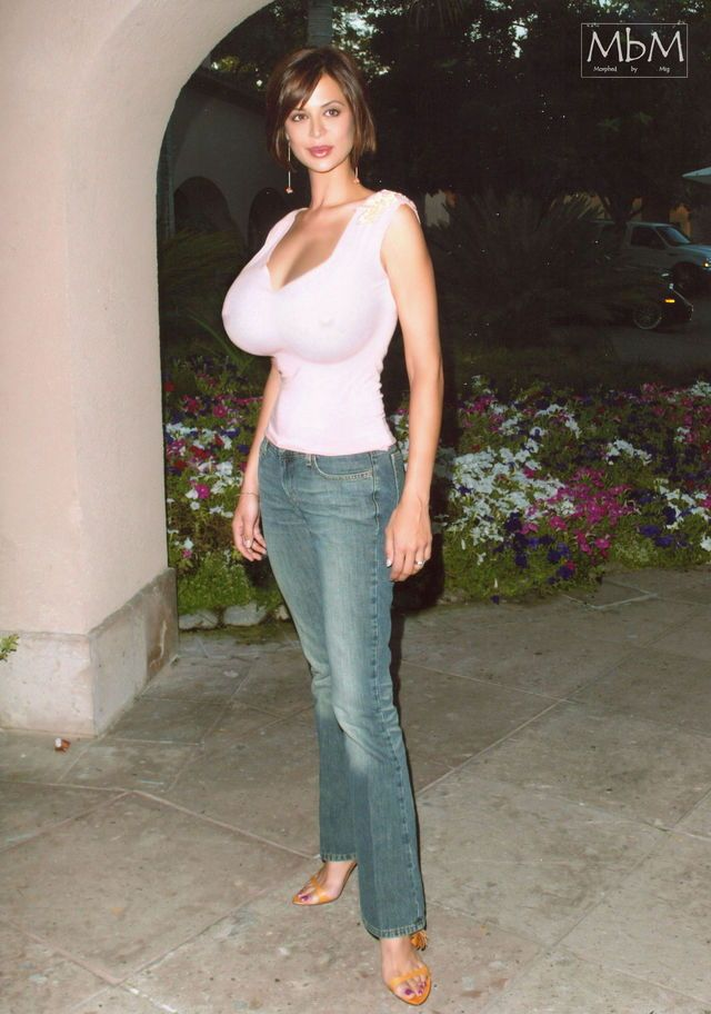 Rascal Pick Catherine Bell Busty Beauty Breast Expansion Celebrity