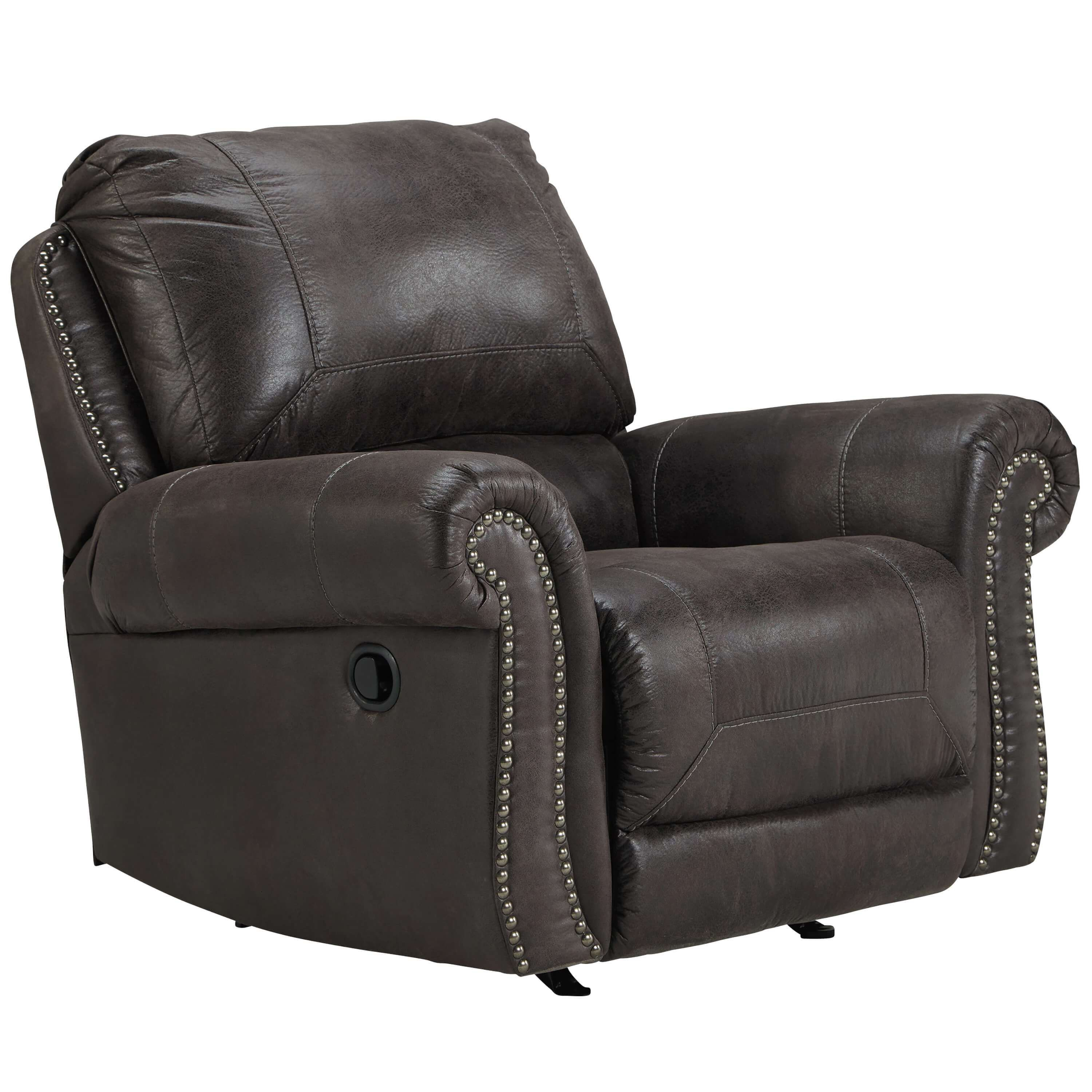 Cozy Leather Rocker Recliner Recliner, Leather recliner