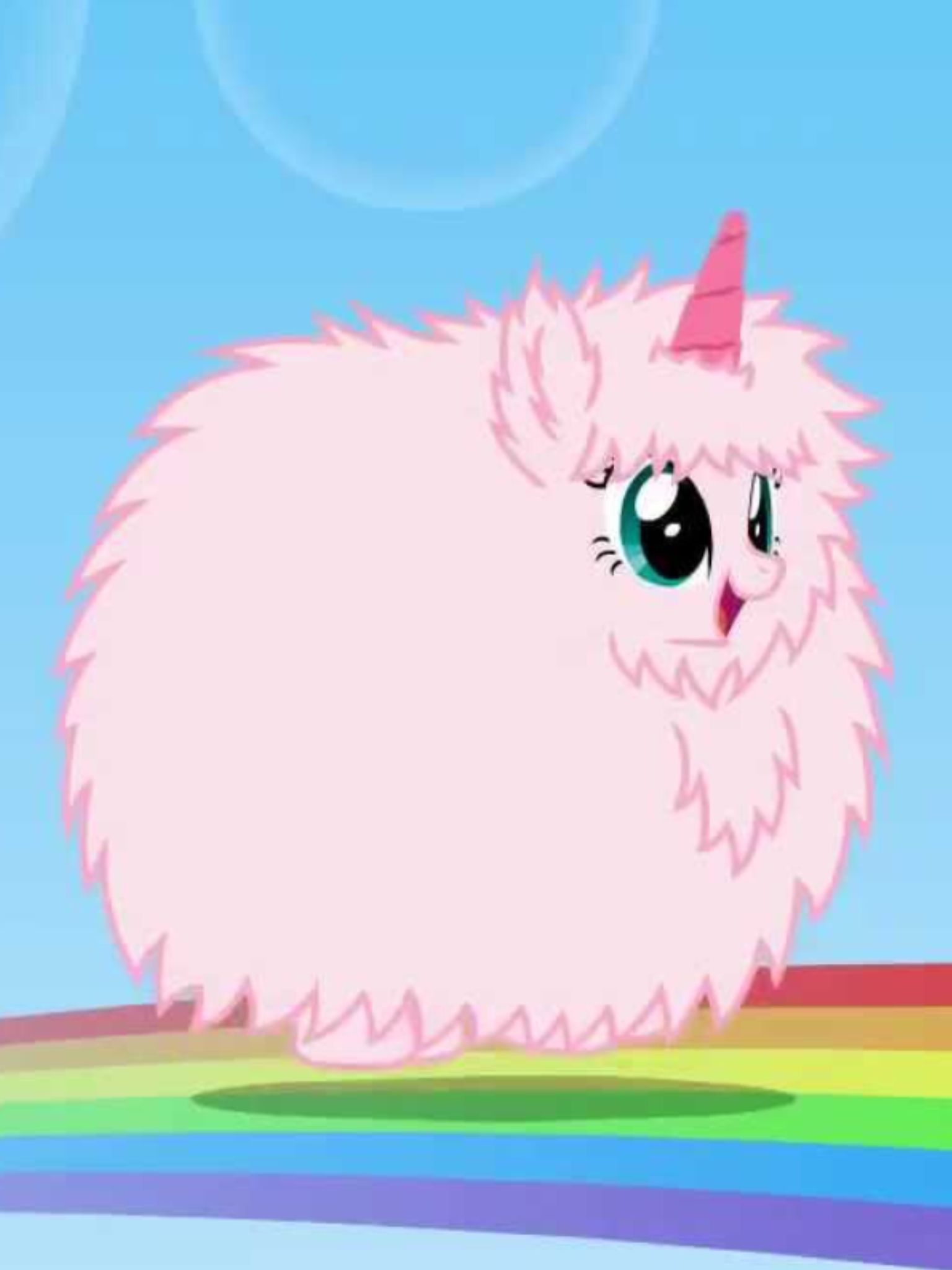 Pink fluffy unicorns dancing on rainbows!! | pink fluffy ...