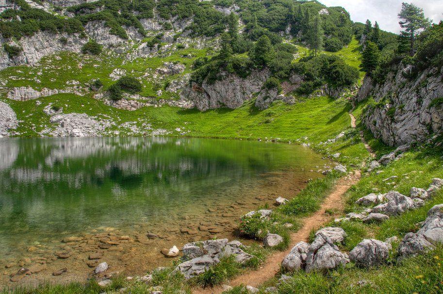 Manutencao Green Lake Nature Hd Green Environment
