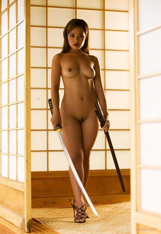 twins nude Katana