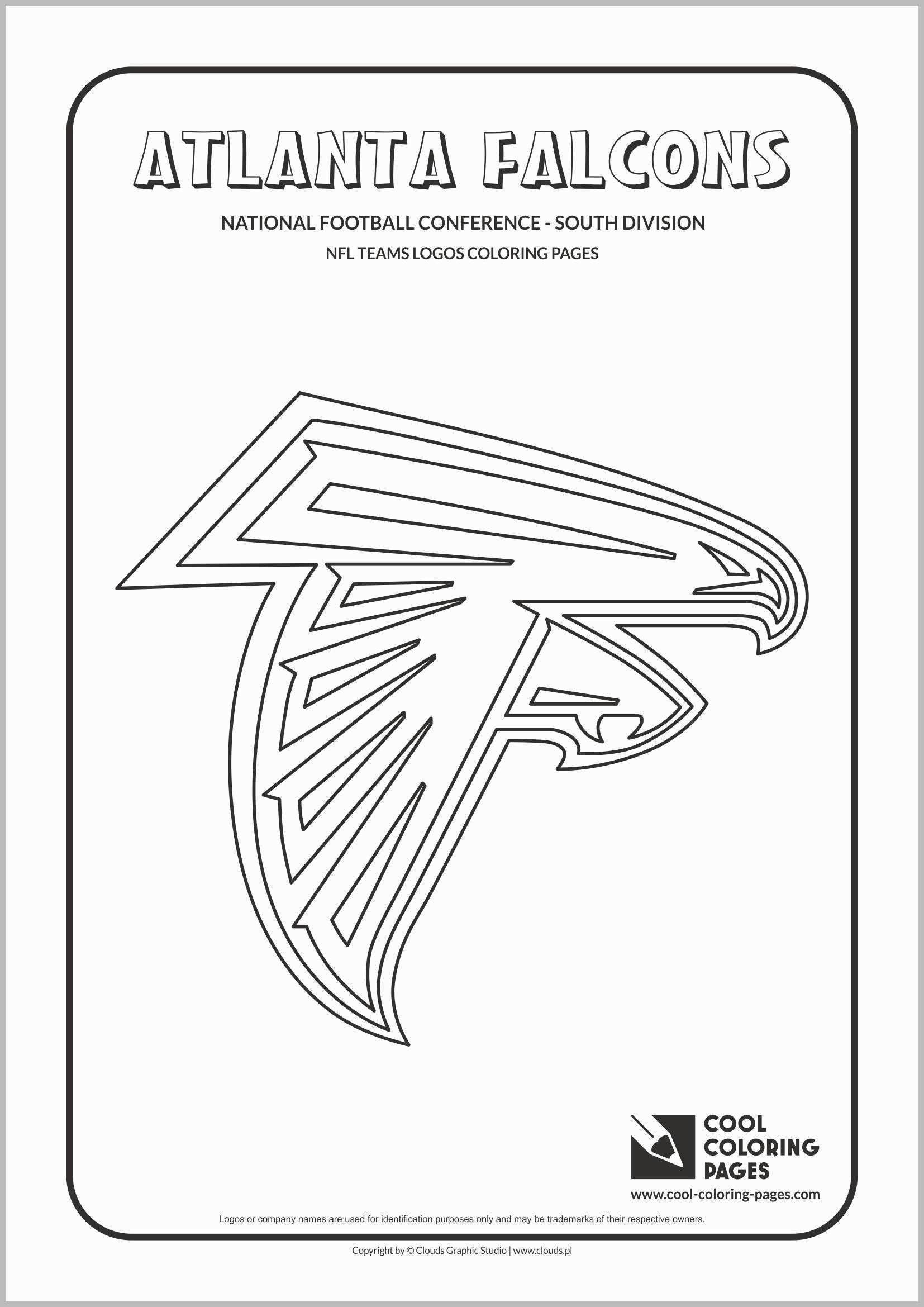Excellent Picture Of Falcon Coloring Pages Davemelillo Com Football Coloring Pages Atlanta Falcons Nfl Teams Logos