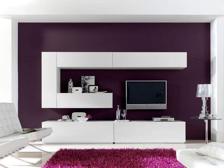Ściana za telewizorem - Make Home Prettier muebles tv Pinterest