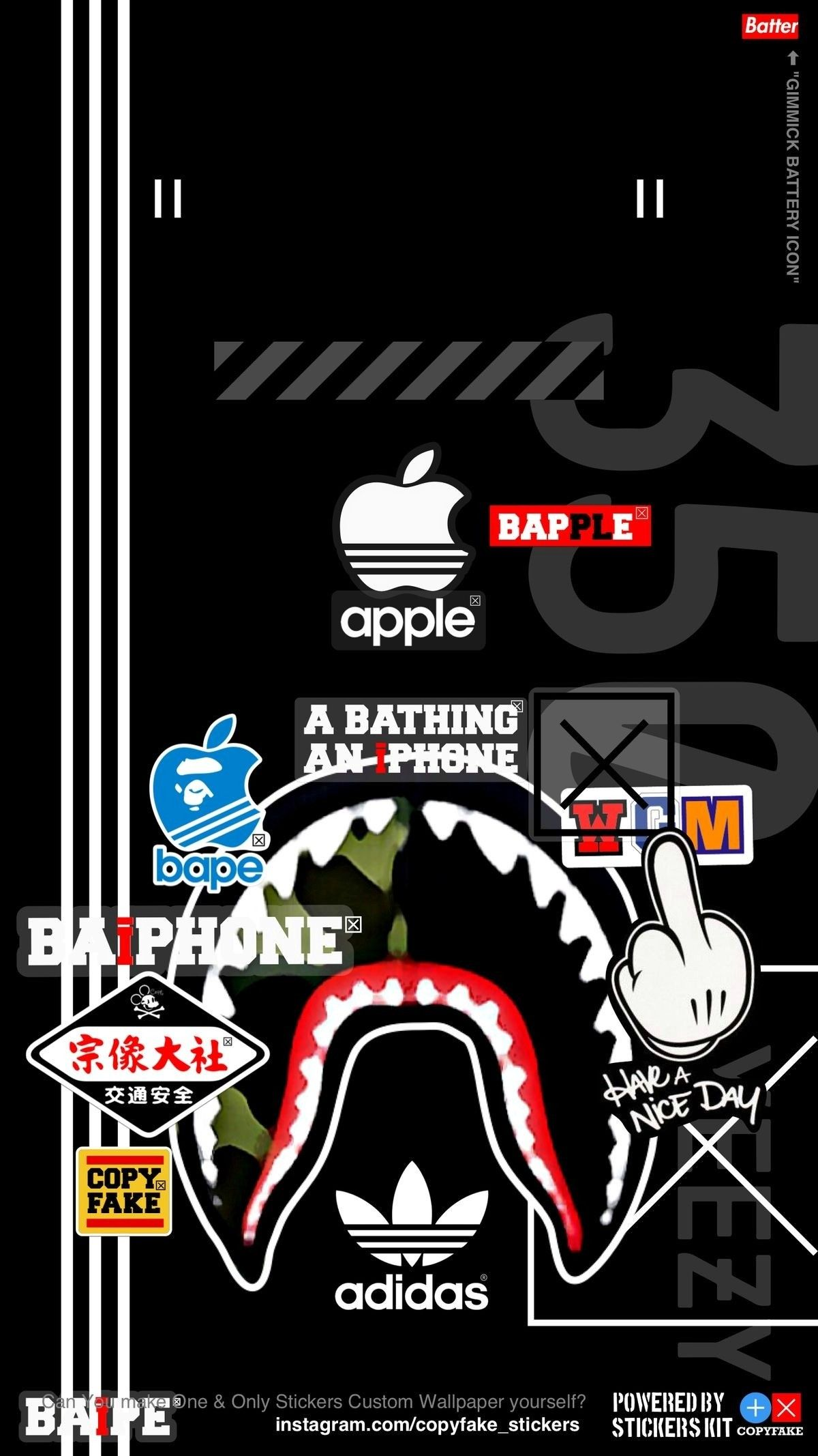 Hypebeast Wallpapers Nixxboi Bape Wallpapers Bape Wallpaper
