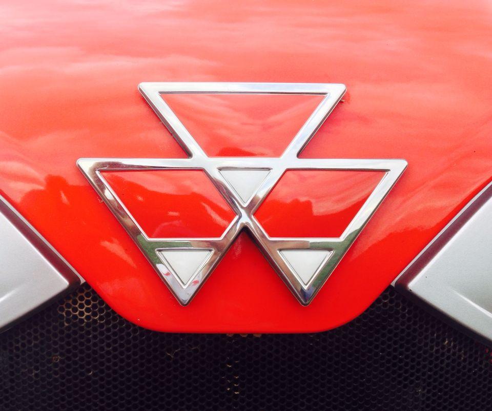 Massey Ferguson Bonnet Logo Massey Logo Pinterest
