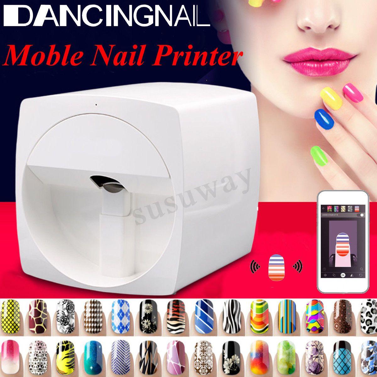Automatic nail art printer machine wireless transfer