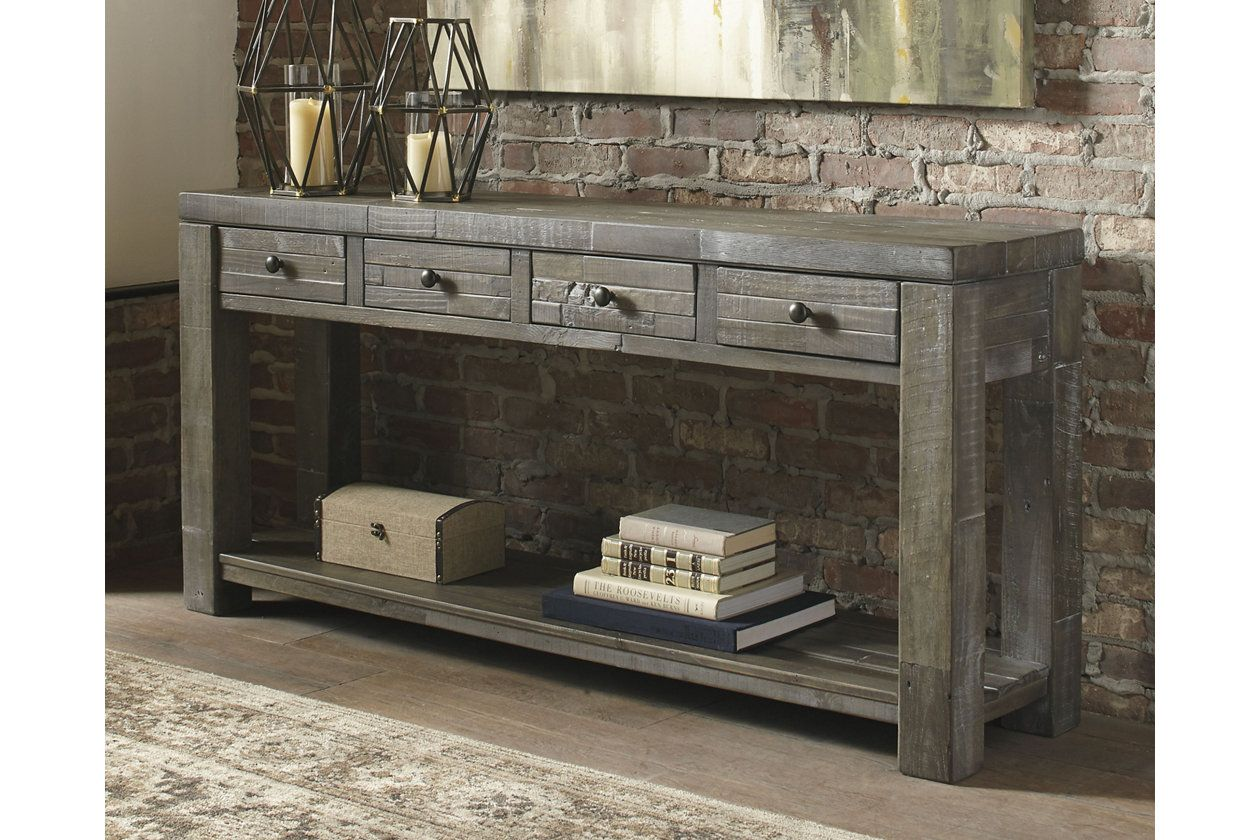 Entry Way Daybrook Sofa Console Table Ashley Furniture Home