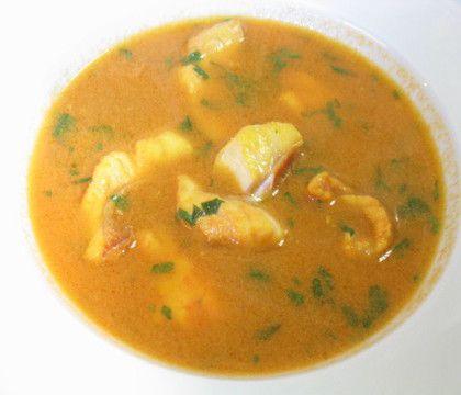 Fondos De Cocina Caldo De Pescado Con Thermomix Seafood Soup Healthy Soup Recipes Colombian Food