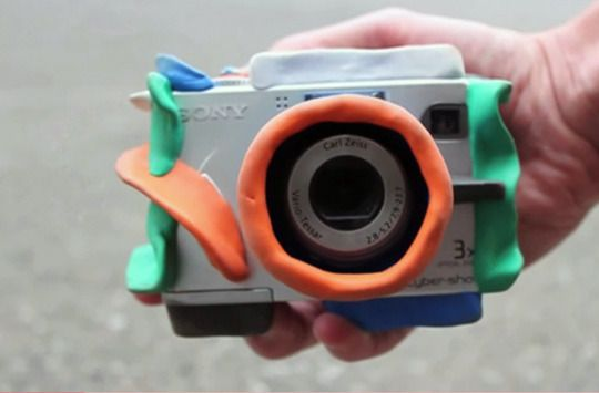 Cool stuff for toddler proofing a point and shoot camera!