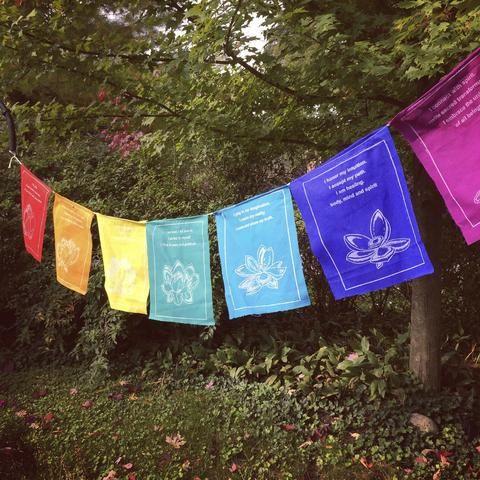 Tibetan Healing Prayer Flags Roll Tibetan Prayer Flag Prayer Flags Prayers For Healing