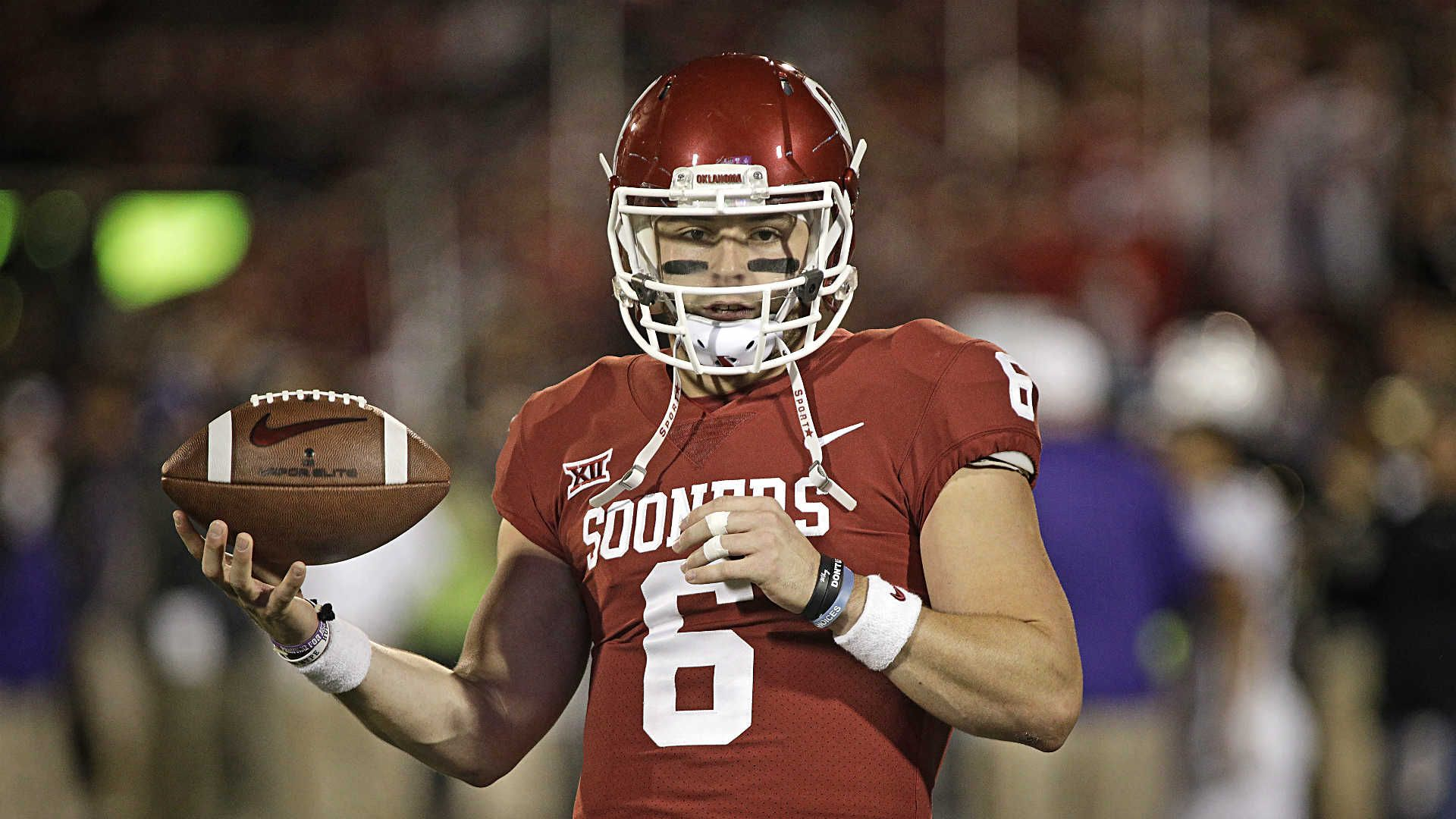 Baker Mayfield Oklahoma's can'tmiss star that all of