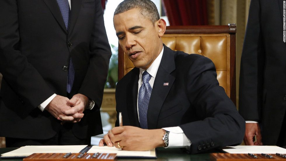 Obama Signs Nominations For Sen John Kerry As Secretary Of State