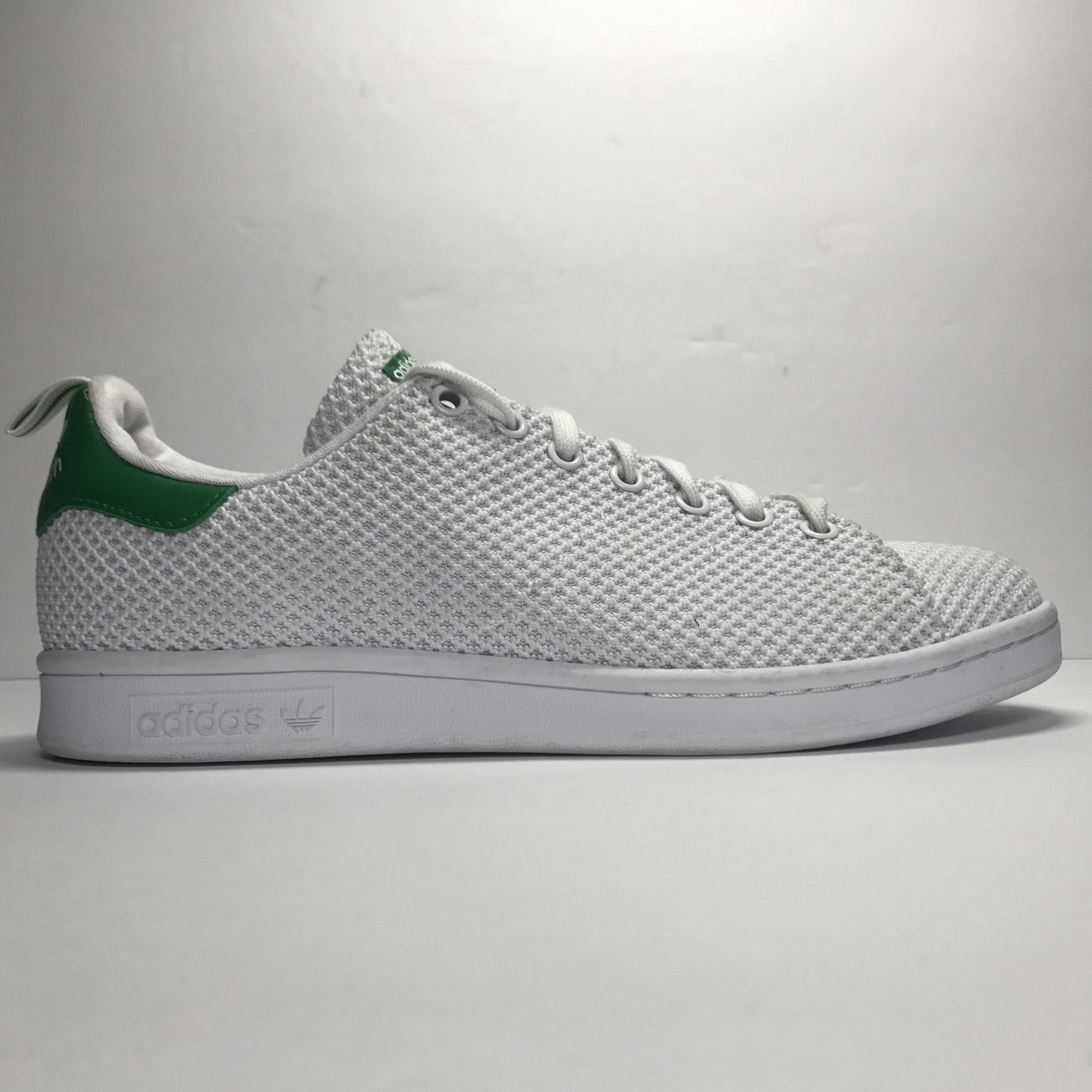 DS Adidas Stan Smith CK White/Green Mesh Size 8.5