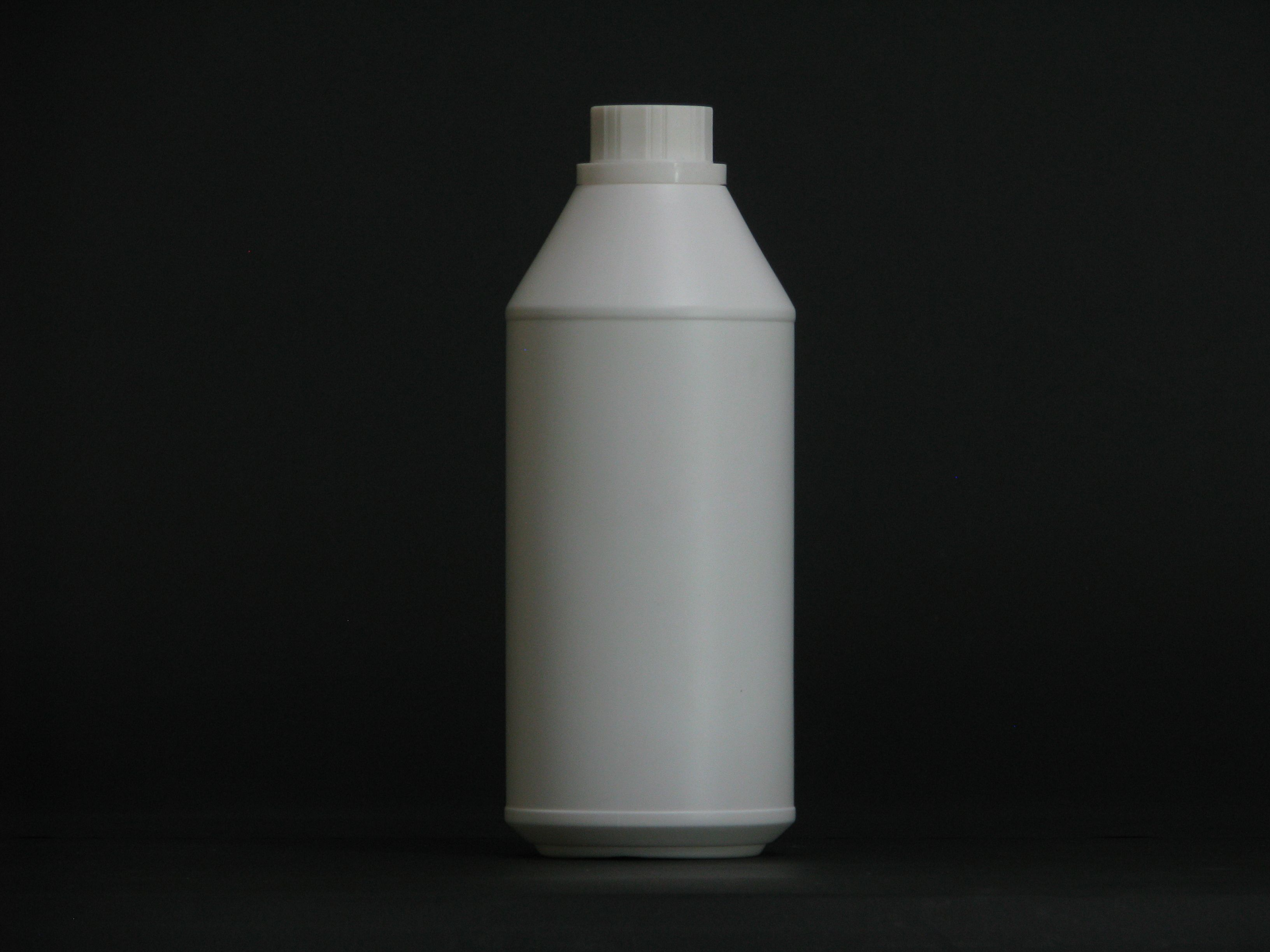 1000ml White HDPE bottle for fertilizer chemical with
