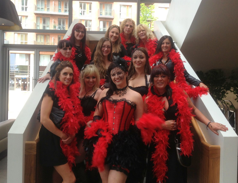 Burlesque Hen Party Night Theme Fancy Dress Idea | Bridal Shower ...