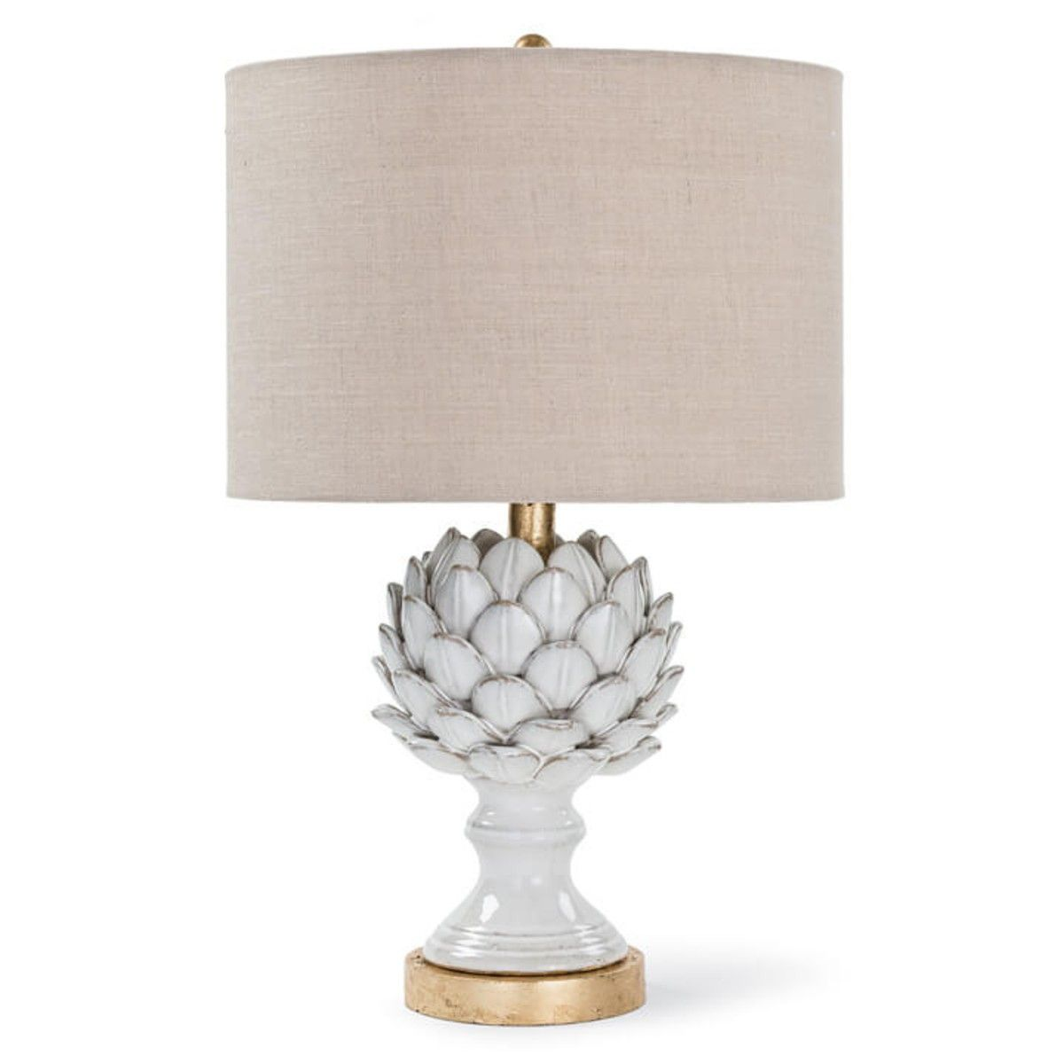 Dorma Artichoke Table Lamp Grey | Dunelm