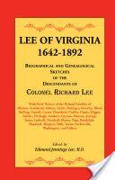 Lee of Virginia, 1642-1892