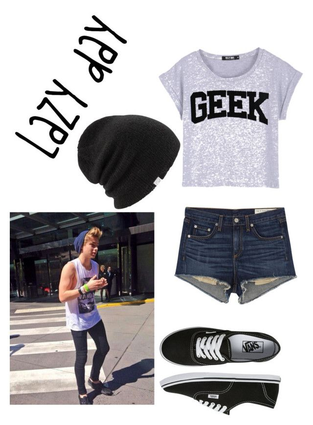Lazy day by jessmarrriee on Polyvore featuring polyvore, fashion, style, rag & bone/JEAN, Vans and Coal
