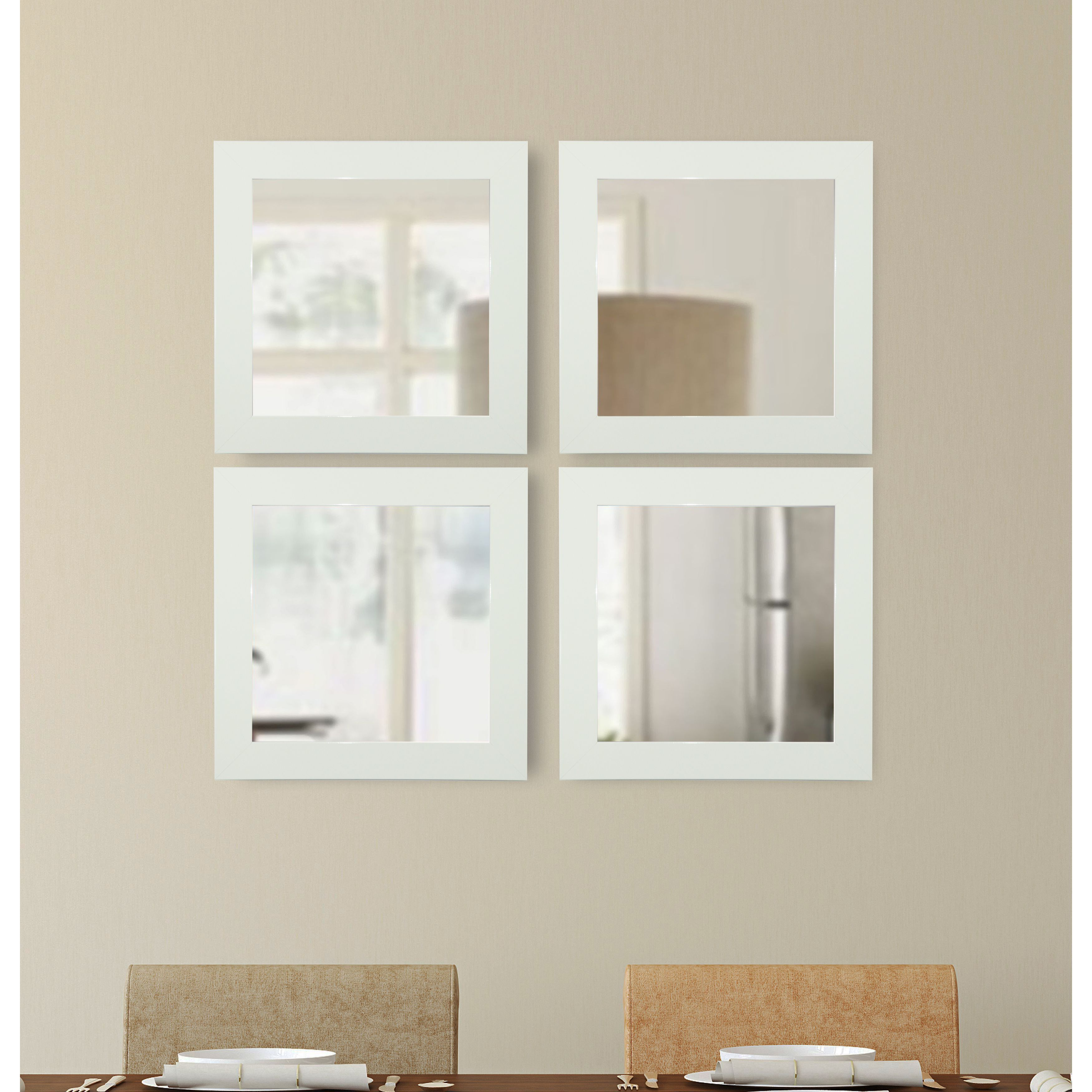 American Made Rayne Delta Square Mirror Sets Products Pinterest