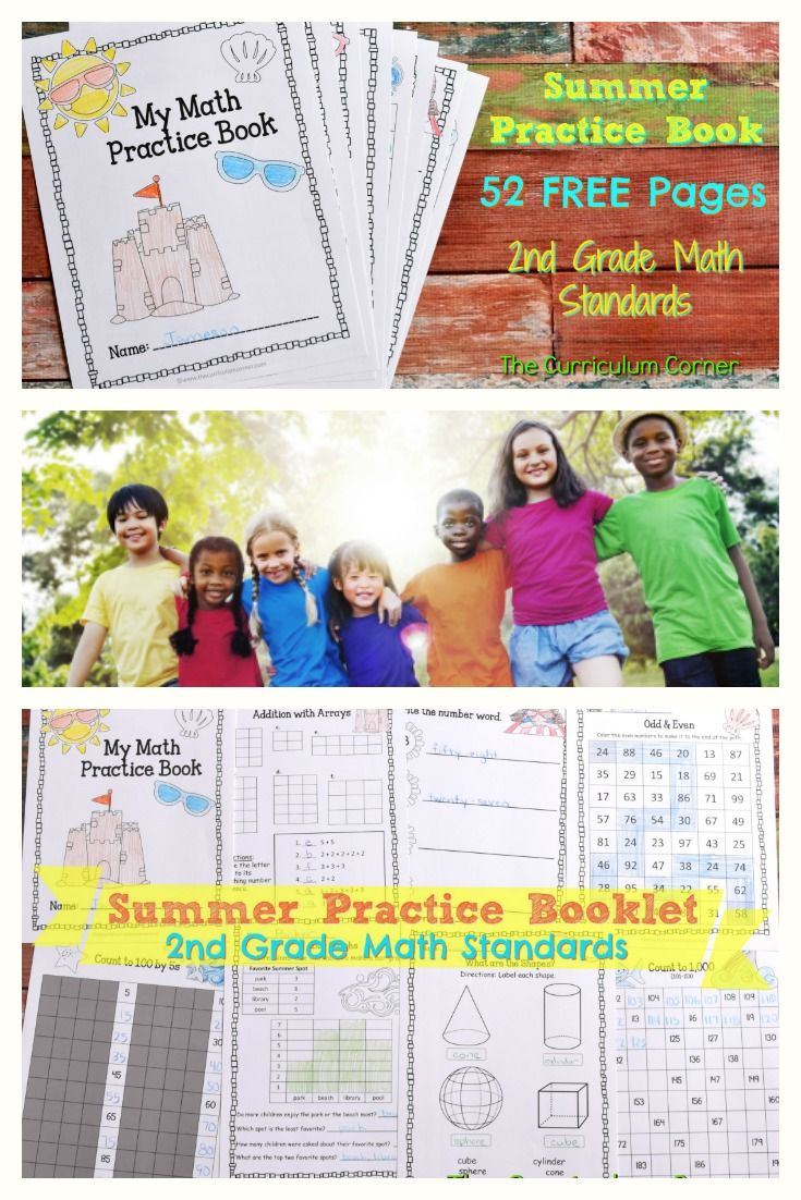 FREE Summer Math Practice Book! | Math, Summer and Free