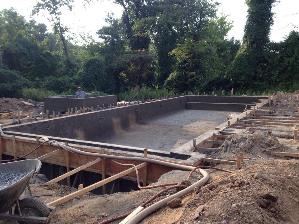 20x50 gunite pool build | Swimming Pools | Gunite pool ...