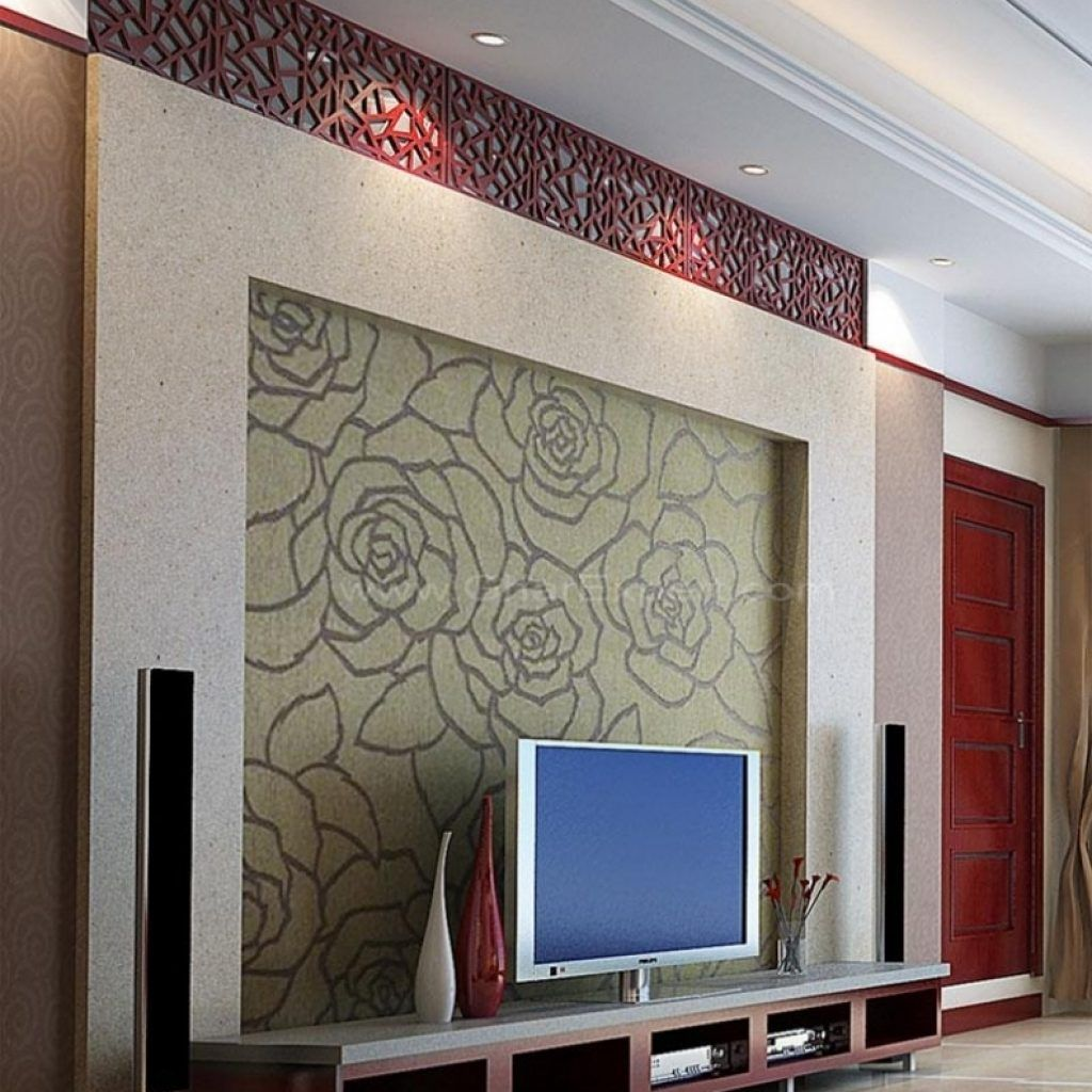 Lcd Wall Unit Designs For Bedroom Bedroom Design Pinterest - Lcd wall design in bedroom