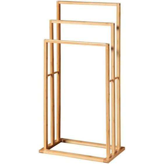 4 0769 071 Bamboo Square Handtuchhalter 49 00 Handtuchhalter Bambus Handtuchhalter Bad