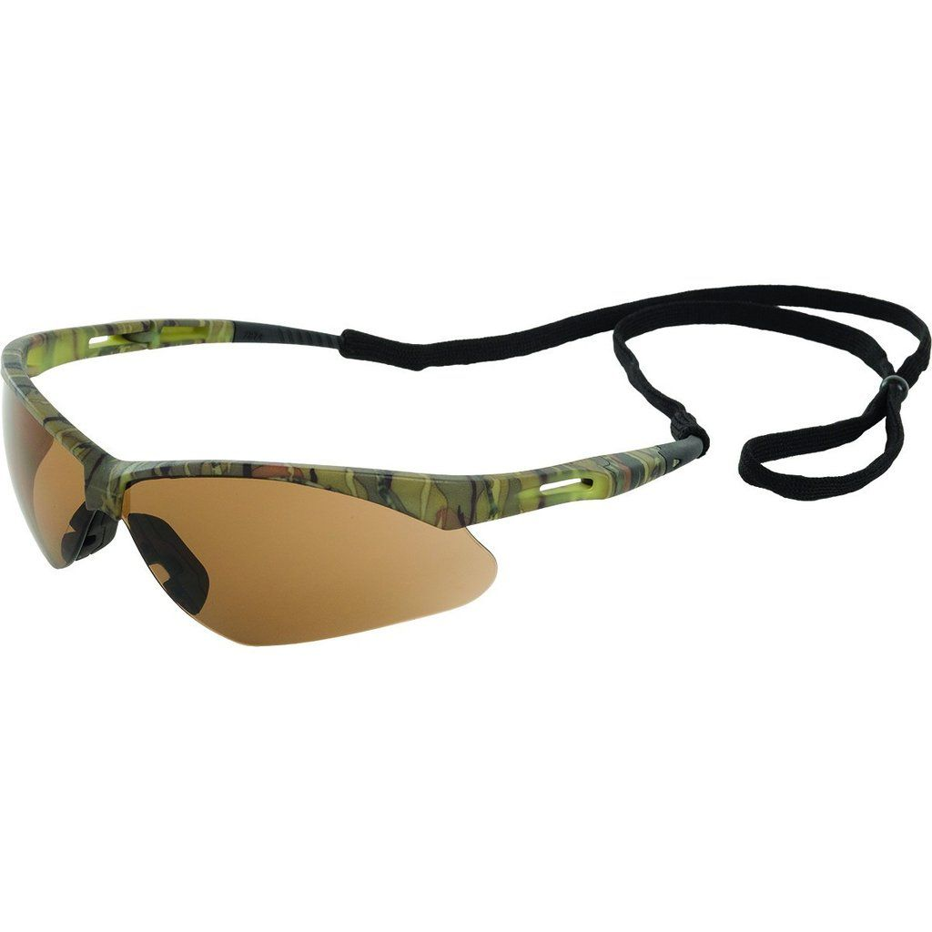 Erb octane camo brown antifog safety glasses 15337 in