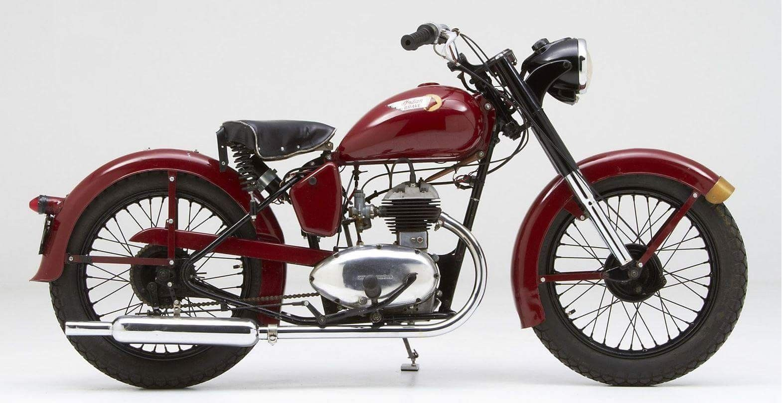 1953 Indian Brave Classic Motorcycle Community Veiculos