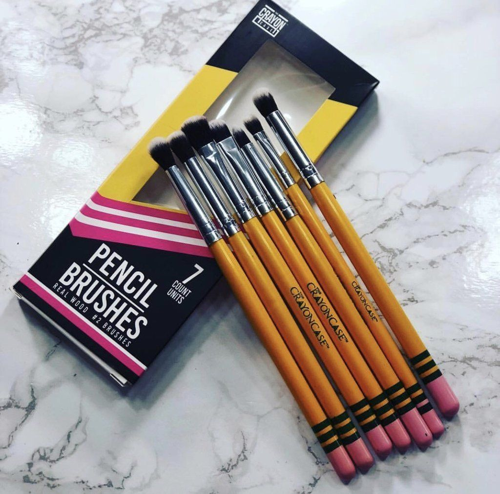 7PC iShadow Pencil Brush Set Blending brushes, Shader