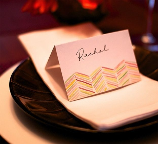 35 Cute And Clever Ideas For Place Cards Word Thanksgiving