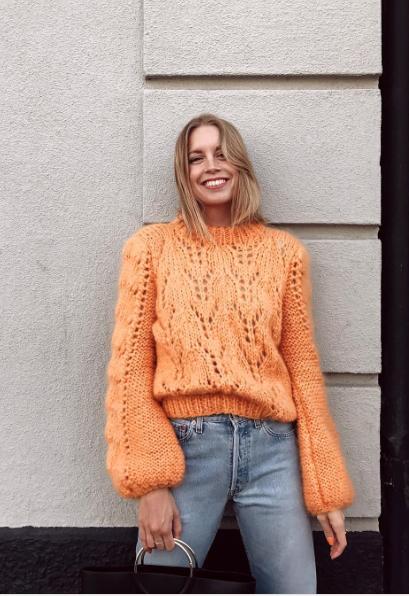 Fall winter fashion · Ganni street style | Hanna Stefansson | Faucher  Pullover