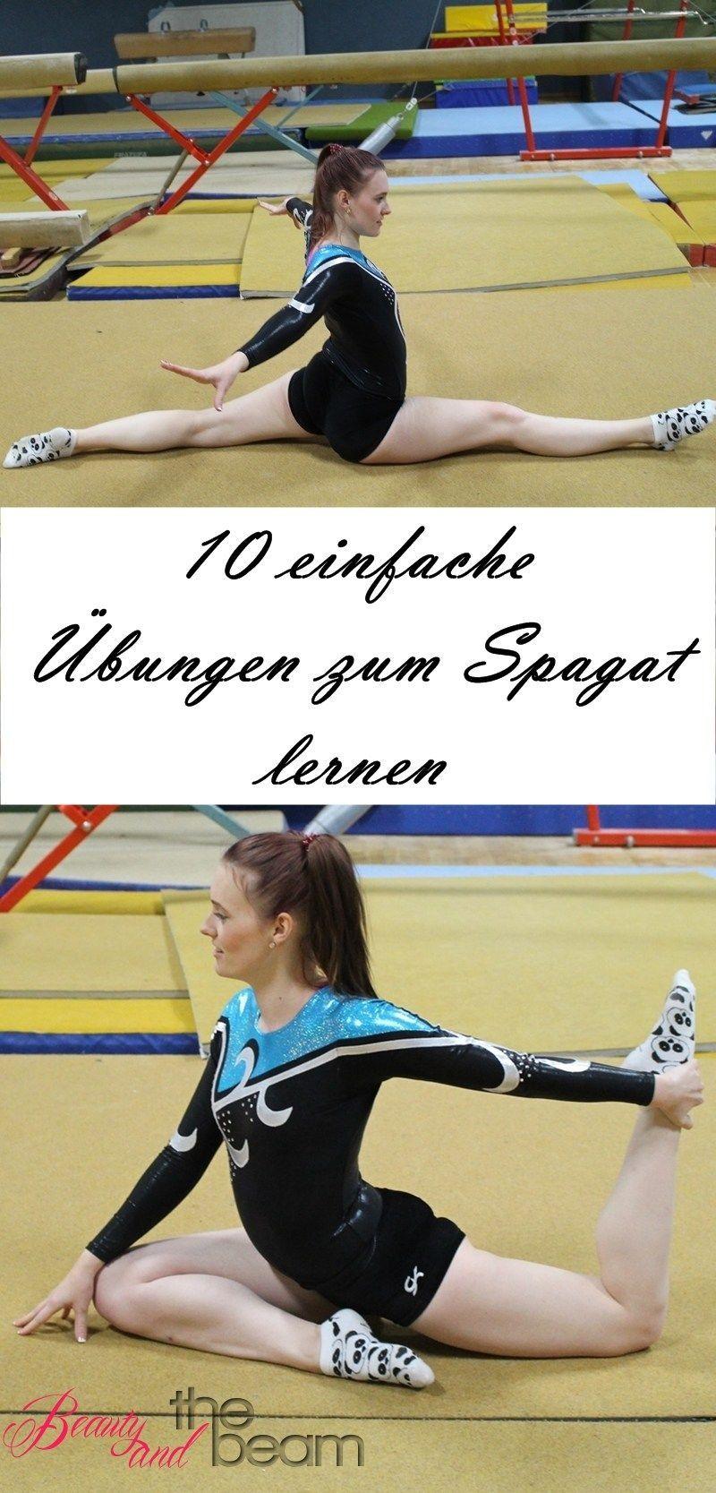 Schnell & einfach Spagat lernen  #einfach #fitness #lernen #schnell #spagat