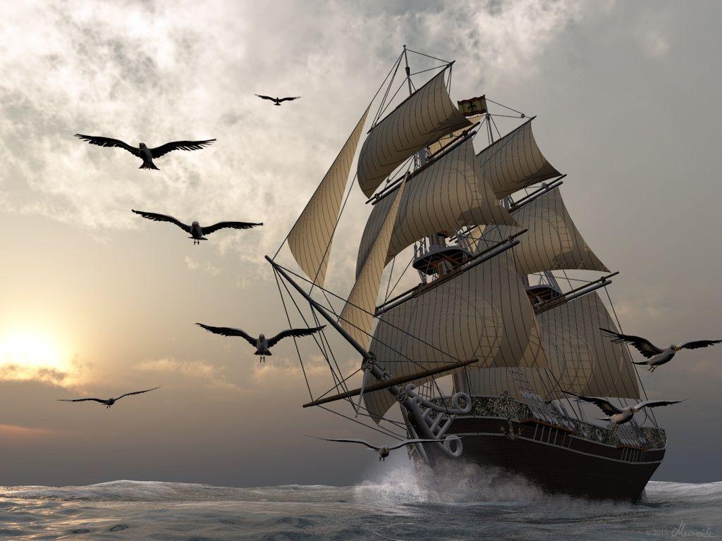 картинка ветер корабли примеру