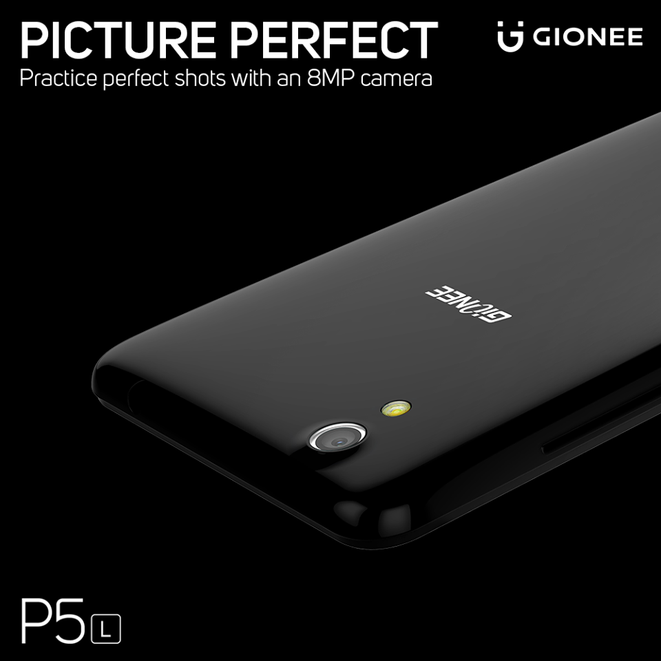 The all new P5L comes with an 8MP rear camera to capture memorable moments and a 5MP front camera for as many smilefies you want. #ColourYourLife Know more about the smartphone - http://gionee.co.in/smartphones/P5L/