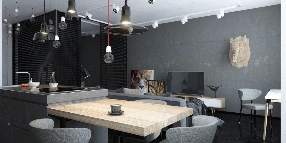Elegant Apartment Modern Interior Full Size .