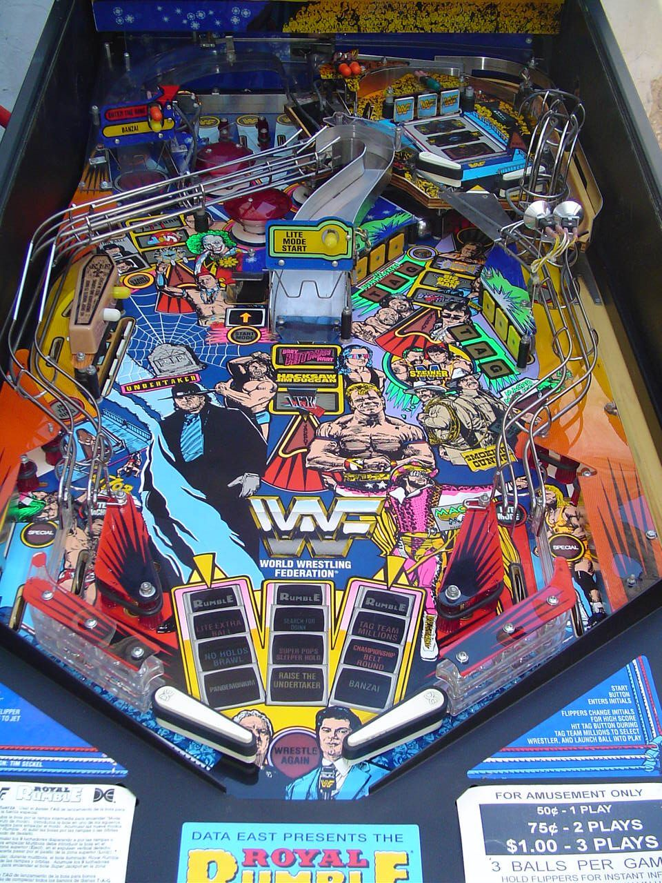 WWF Royal Rumble Pinball