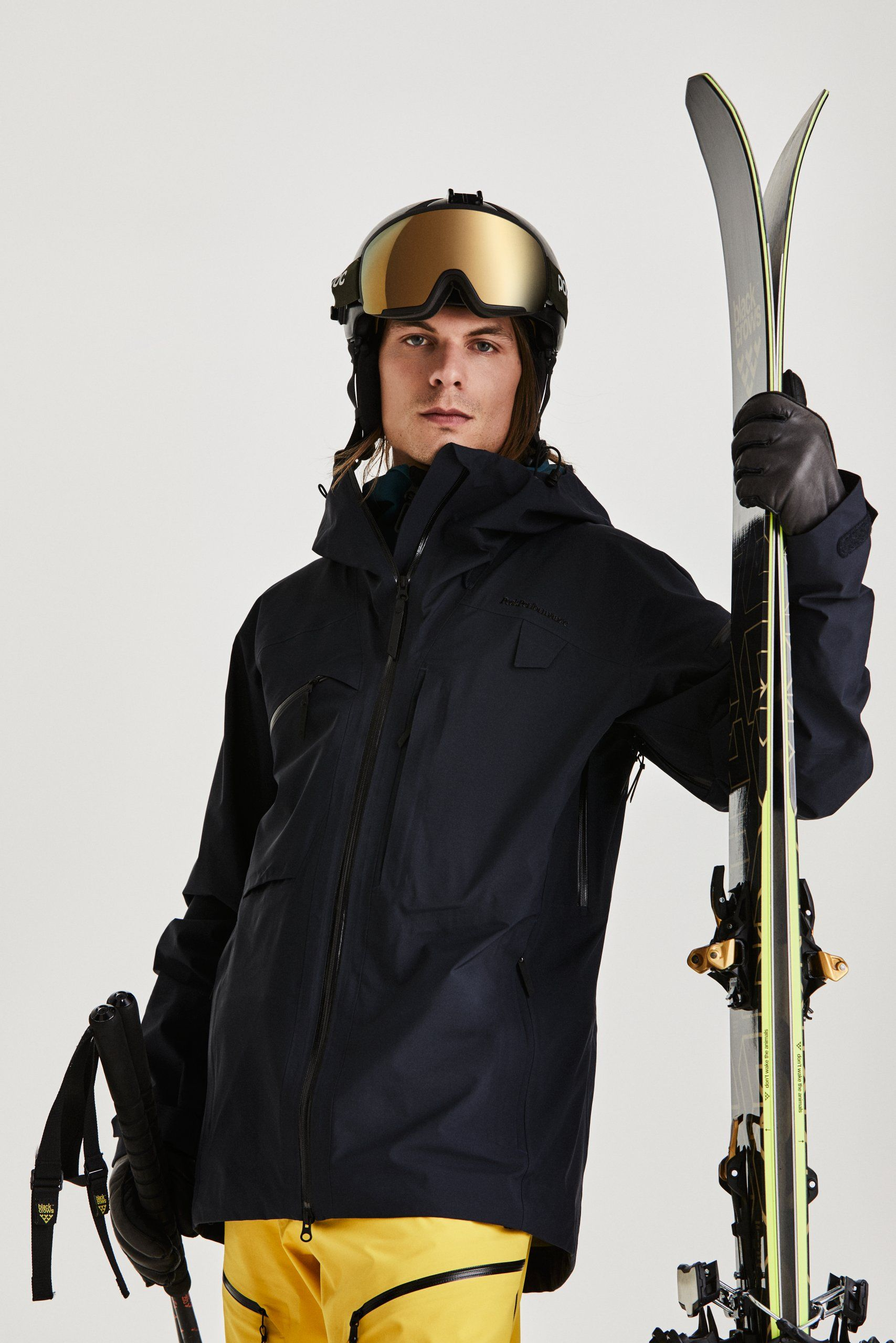 Alpine Ski Jacket: Durability meets comfort in a jacket