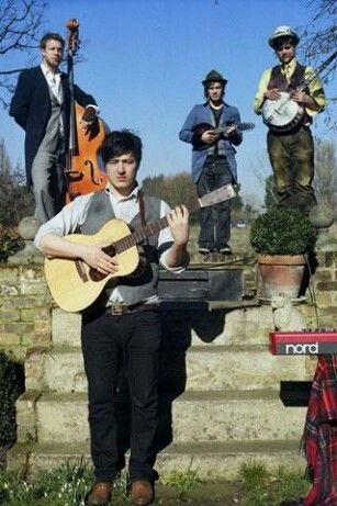 Mumford and sons :) my most favorite band!